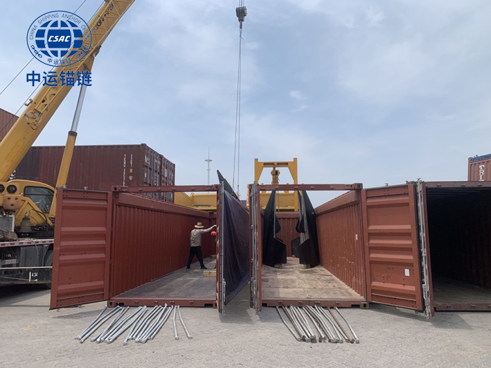 10 pieces of 10ton Offshore Drag HHP Anchor exporting abroad